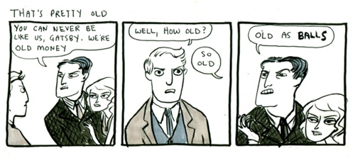 The Great GatsbyStuff, Book Book, Ball Harkness, Kate Beaton, Gatsby Comics, Funny, Comics Strips, Vagrant, Ball Kate