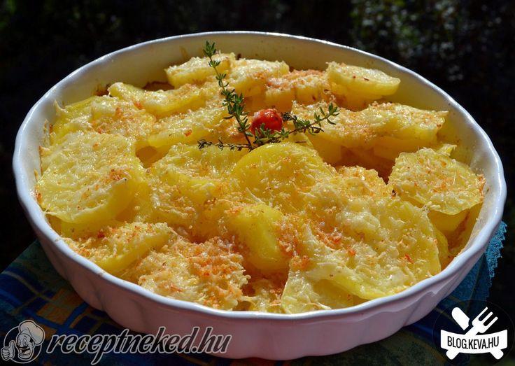 """A legjobb """"Aranykrumpli"""" recept fotóval egyenesen a Receptneked.hu gyűjteményéből. Küldte: Biró Sára"""