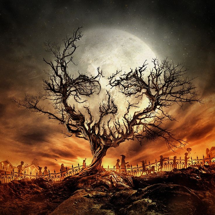 "morbidfantasy21: "" Tales of Halloween – movie poster concept by Chris Davidson """
