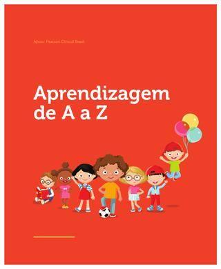 Cartilha de aprendizagem de A a Z