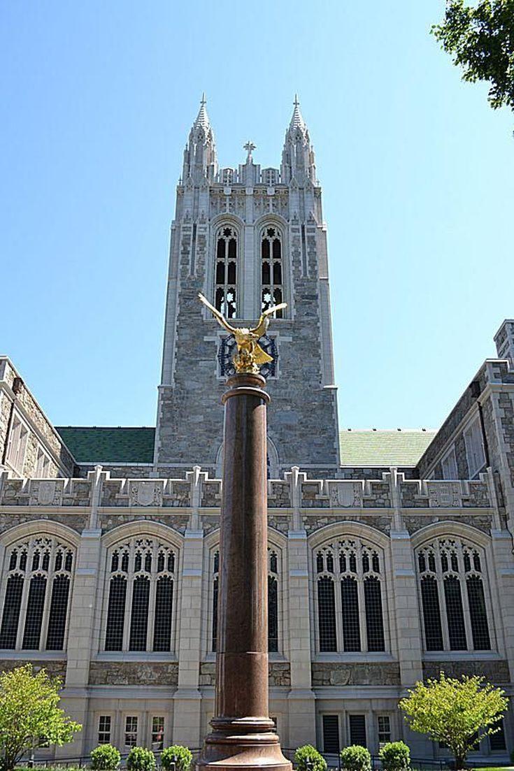 Explore the Boston College Campus in This Photo Tour: Gasson Hall at Boston College
