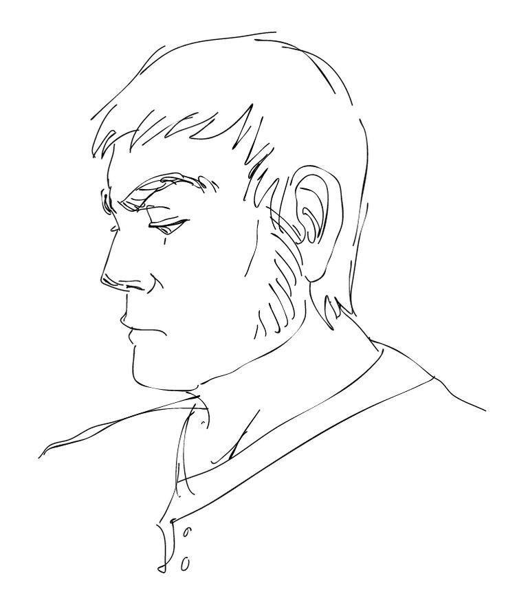 face, head drawing freehand sketch | Ziteboard https://ziteboard.com