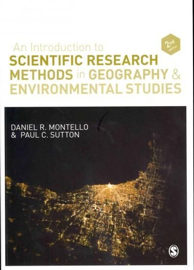 An Introduction to Scientific Research Methods in Geography & Environmental Studies