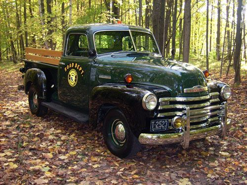 1948 Chevy Truck for the Road Department in Mineral County, Nevada