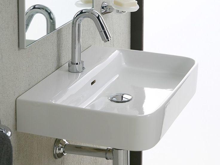 Lavabo d 39 arredo rim 55x40x10 iperceramica lavabi bagno pinterest ceramica - Arredo bagno iperceramica ...