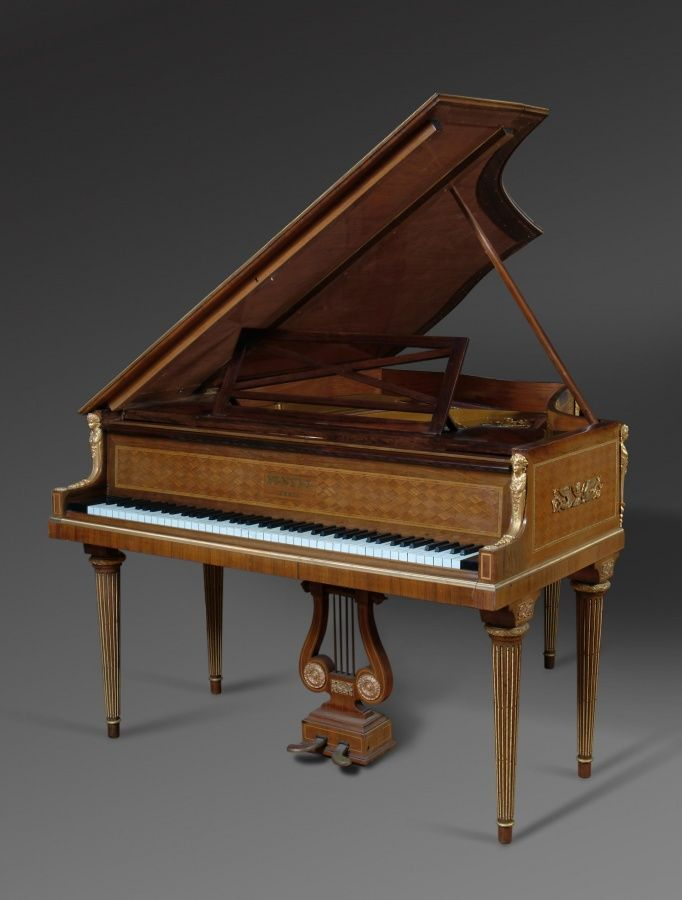 Circa 1900   Origin: Paris   Height: 39″ (138cm) Width: 57″ (144.7cm) Depth: 62.5″ (158.7cm) Top Open Height: 71″ (180.3cm)   Maker: Ignaz Playel Serial Number: 145638 Interior Marked: Pleyel, Wolff, Lyon et Cie   Pleyel is one of the most celebrated and renowned piano names in history. Ignaz Pleyel was not only a piano manufacturer, but […]