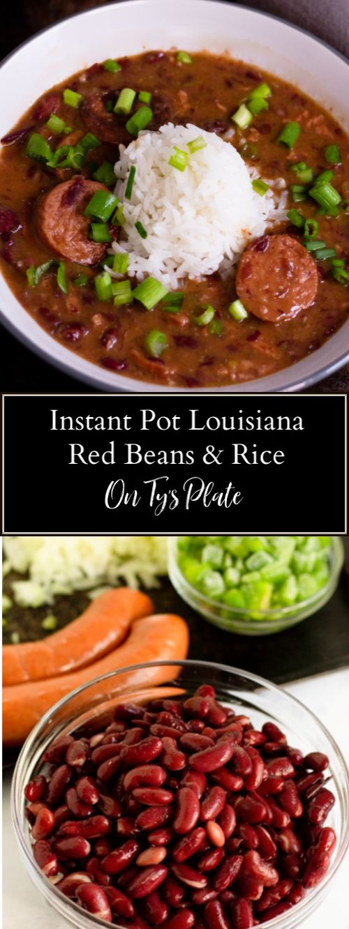 This southern classic Louisiana Red Beans and Rice recipe is mouthwatering good. Smoky sausage and a gang of peppers and…