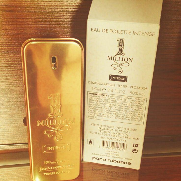 Pacco Rabbane One Million INTENSE Tester Parfume Man 100 ml 170₺