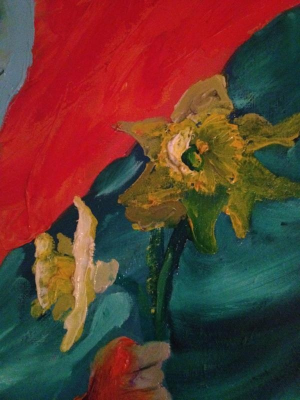 @Julie_Proudfoot: Day 9! 'Colour' from one of my paintings #BendigoTalksJulyPhotoADay
