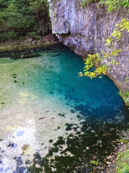 Ha Ha Tonka State Park near Lake of the Ozarks in missouri