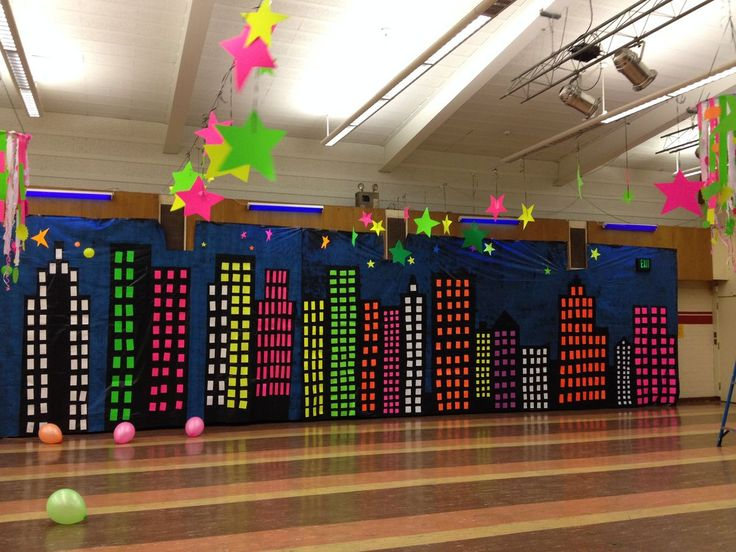 36 best glow in the dark images on pinterest glow party for Spring dance decorations