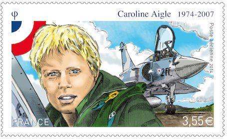 Caroline Aigle, première femme pilote de chasse de l'armée de l'air française