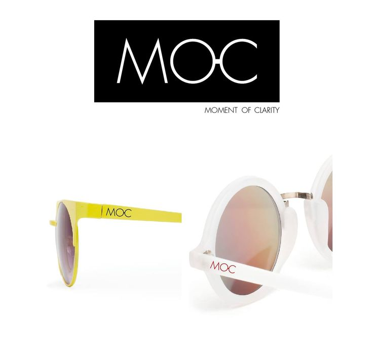 MOC - moment of clarity  our eyewear and sunglasses collection