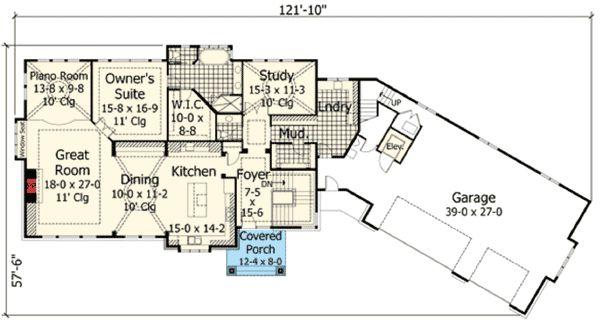 34 best house plans images on pinterest arquitetura for Guest apartment floor plans