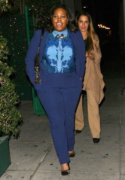 Get Amber Riley's Look #workwearwednesday #plussize