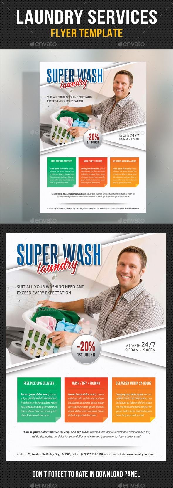 laundry flyers templates - the 25 best laundry service ideas on pinterest utility
