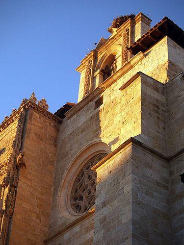 "Iglesia de Santa María, Aranda de Duero, Burgos. Sede de la exposición de arte sacro ""Eucharistia""."