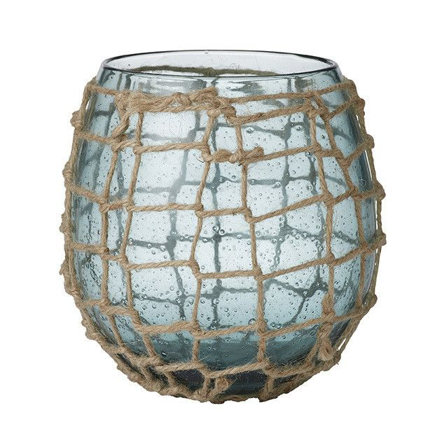 Tara Dennis Homewares - Rope Net Vase - www.taradennisstore.com