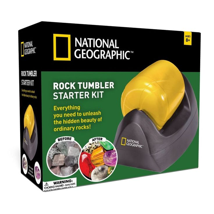 Rock Tumbler Starter Kit by NATIONAL GEOGRAPHIC
