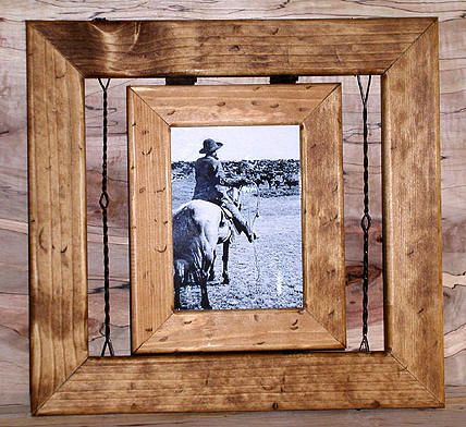 I have a picture of my grandpa as a young man with his horse...this frame would be great for that!