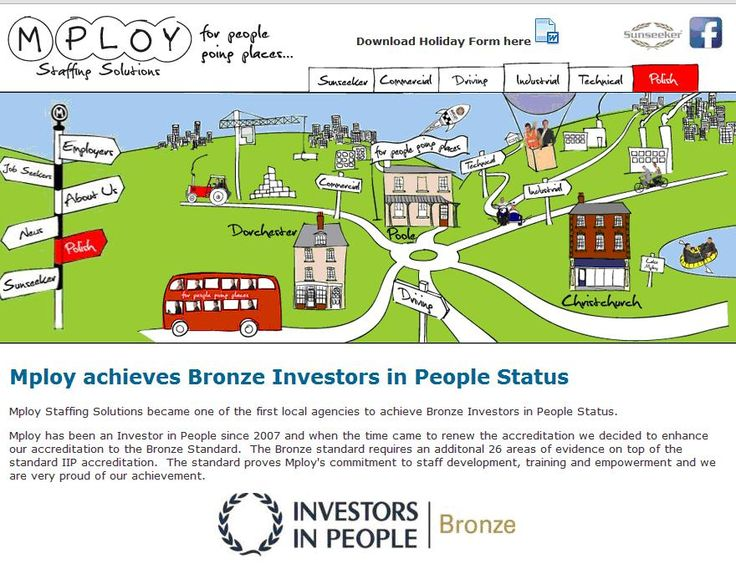 Mploy Staffing Solutions - Investors in People Bronze