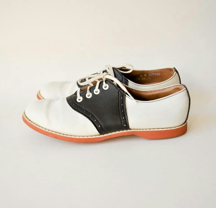 Saddle Shoes ~ I have a black pair and a brown pair; I still love them.