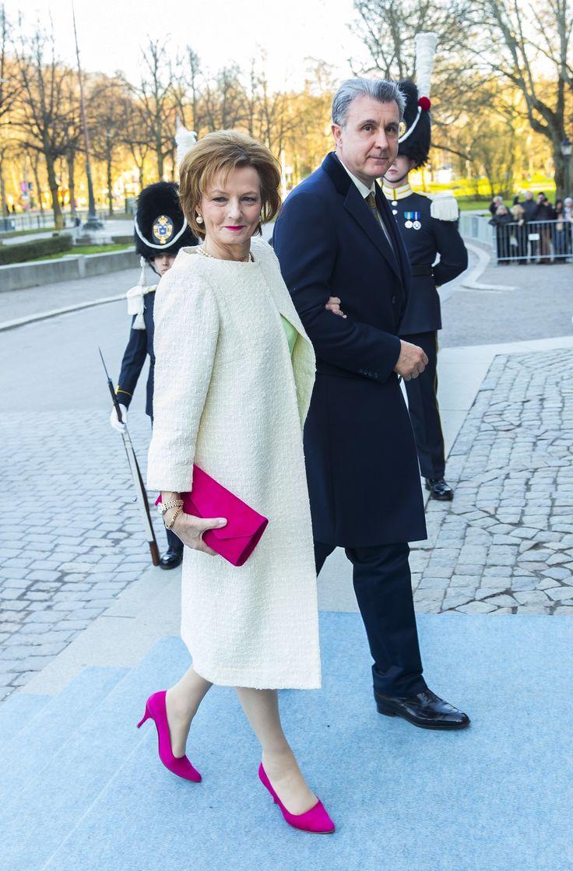 King Carl Gustaf 70th birthday:  #royalfashion #Margareta of #Romania