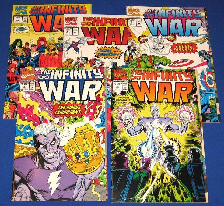Infinity War Comic New