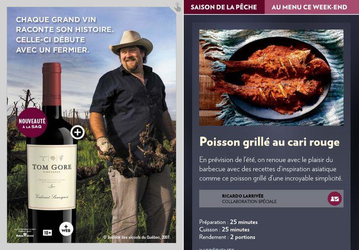 Poisson grillé au cari rouge - La Presse+