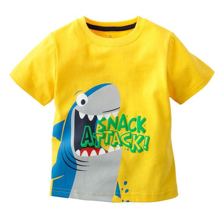 Tshirt Jumping Beans (pre Order) - Yellow Snack Attack ! dari Grosir Online Store di Pakaian Anak-Anak - Produk Grosir