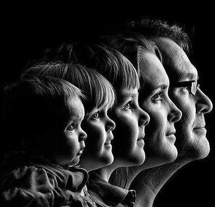 Интересное семейное фото | Семейные фотосессии, Семейные ...