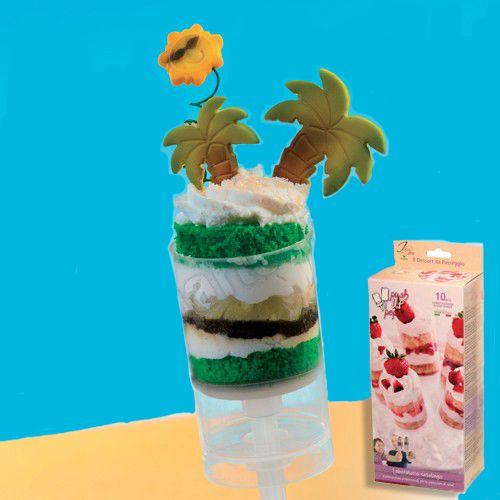 Tagliapasta e stampi vari : Push up pops tondo Italian Cake Art conf. 10pz