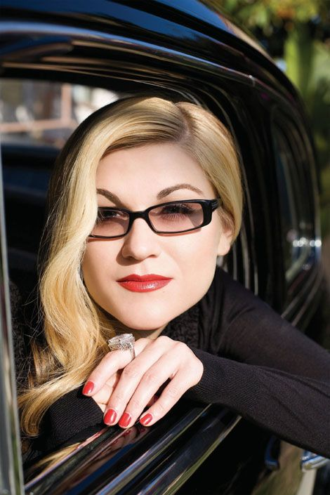 Melody Gardot - LOVE her overall style!