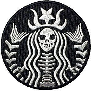 Amazon.com: Dead Mermaid Zombie Halloween Skull Skeleton Sew Iron on Embroidered Patches - Black (1Pcs.)