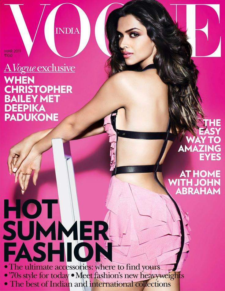 DEEPIKA   PADUKONE |  VOGUE INDIA MARCH, 2011 COVER