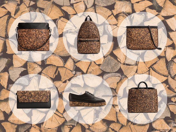 Du suchst nach dem gewissen Etwas? Du legst Wert auf Nachhaltigkeit und naturnahe Materialien? Schau dich doch mal bei unserer neuen veganen Matt & Nat Cork Collection.