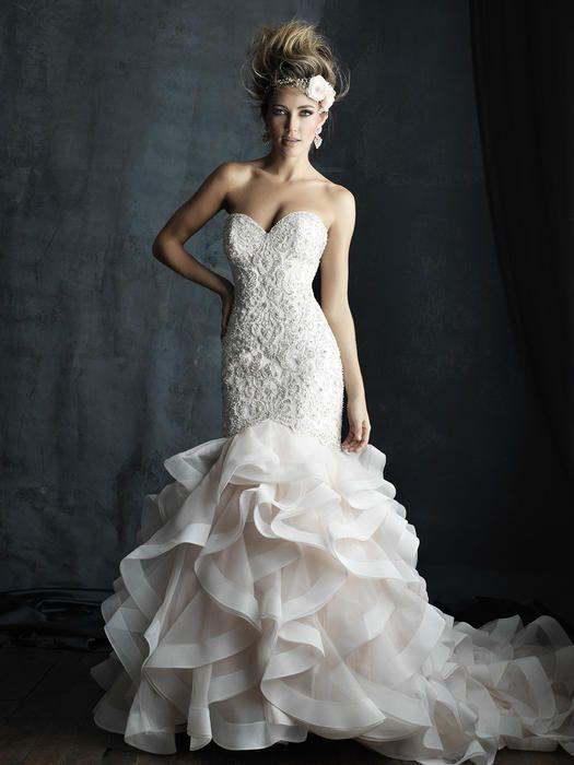 Allure Couture Bridal At Estelleu0027s Dressy Dresses In Farmingdale, NY # Wedding #weddingdress #