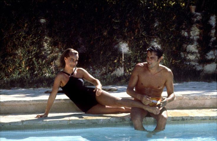La piscine romy schneider alain delon unzero films for Alain delon la piscine