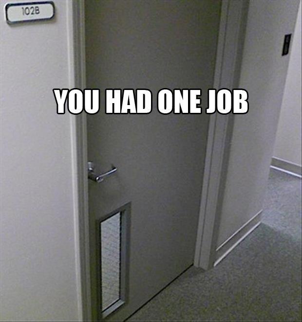you had one job door - Dump A Day & 125 best Animals u2022 Cat door u2022 Dog door.. images on Pinterest ...