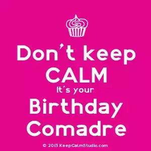 Birthday  comadre