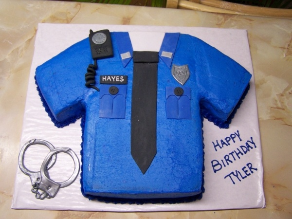 Cop Cakes By Ashley