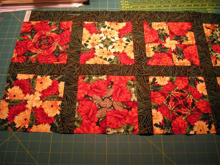 50 Best Images About 4 Patch Posie Quilts On Pinterest