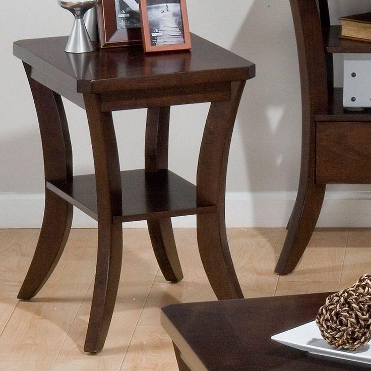 Jofran Joes Espresso Chairside Table
