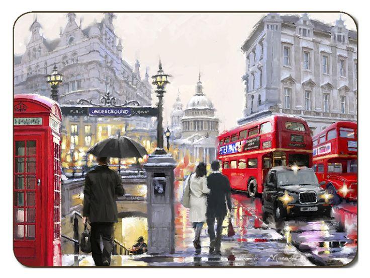 placemats.co.uk | Jason Streets of London Placemats | Jason ...