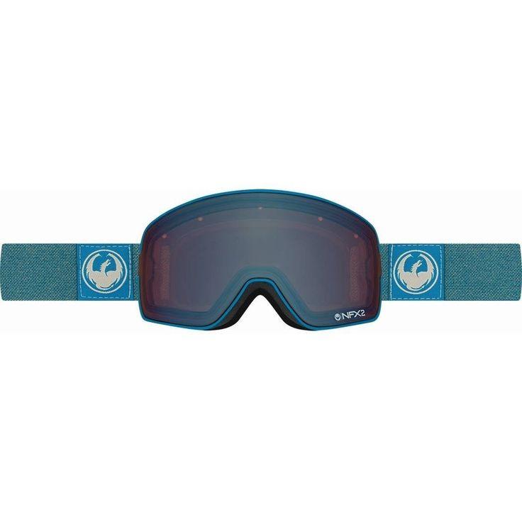 Other Snowboarding 159155: New Dragon Nfx2 Ski Snowboard Goggles Hone Blue Optimized Flash Blue + Bonus -> BUY IT NOW ONLY: $116.97 on eBay!