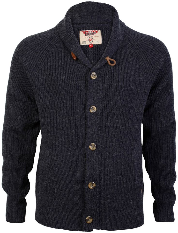 Broad Shawl Neck Cardigan - Mens Clothing – Tokyo Laundry