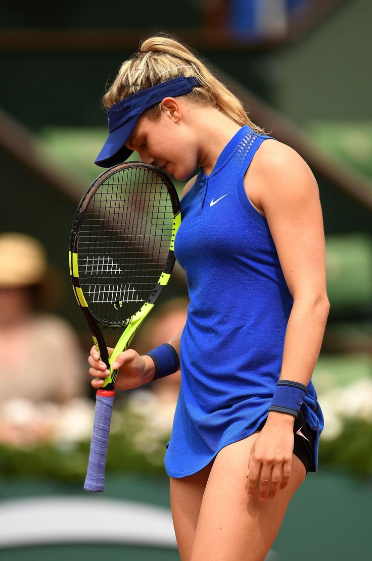 EUGENIE BOUCHARD at Second Round Match of French Open in Paris 05/26/2016                                                                                                                                                                                 More
