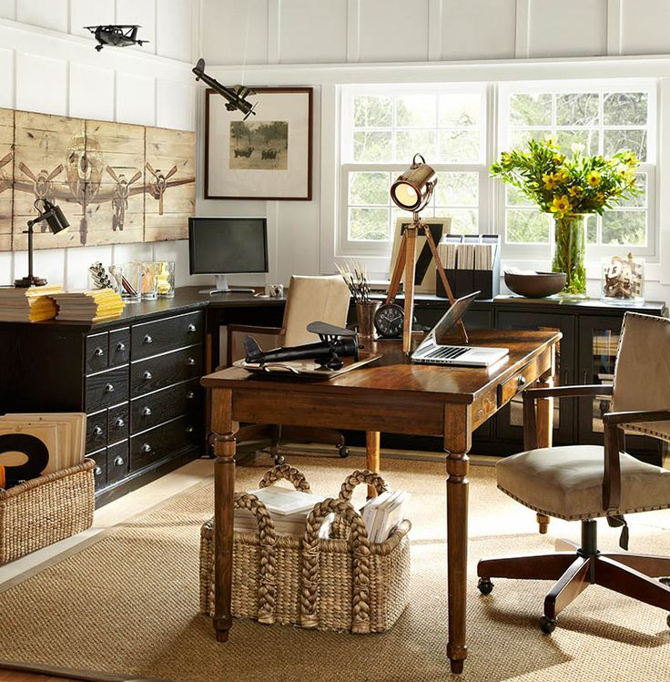 Do you best work at home. #potterybarn