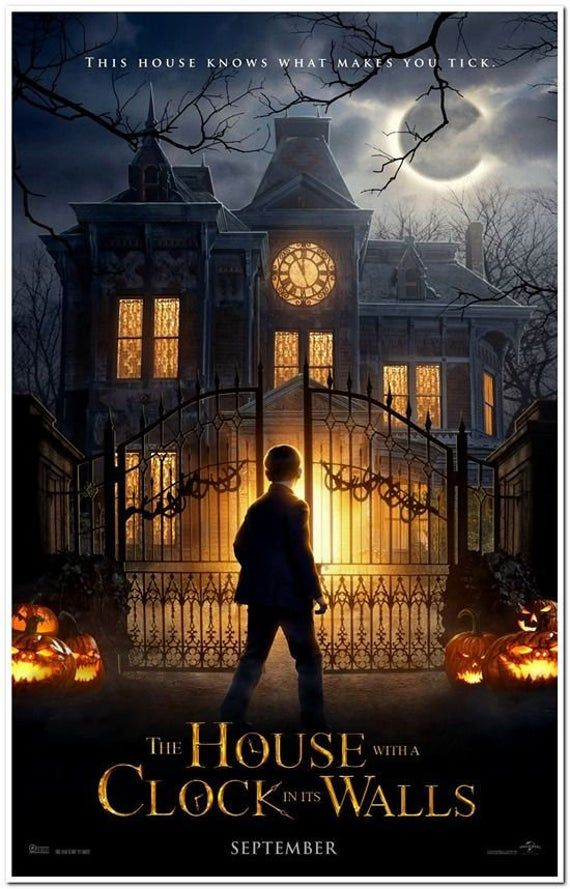 House With A Clock In Its Walls Original D S 27x40 Movie Etsy In 2021 Full Movies Online Free Streaming Movies Free Movies Online