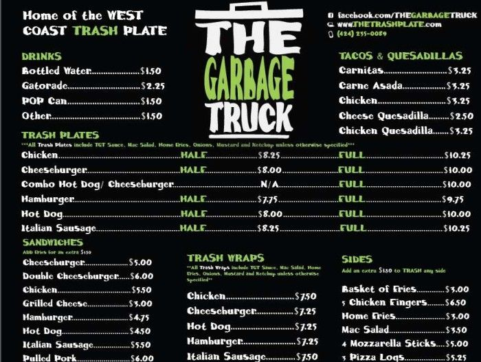 Best  Food Truck Menu Ideas On   Food Truck Business